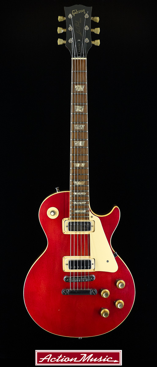 gibson les paul deluxe 1974 action music 2004 Gibson Les Paul Deluxe back